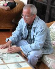 Sr. Aldo Soler - Artista Plástico Cubano