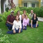 Trabajadores de la Cátedra Internacional de Artes Plástica y Música